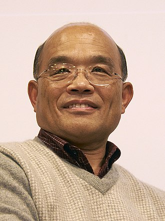 2008 Taiwan presidential election - Image: Su Tseng chang (cropped)