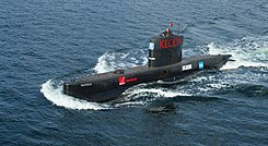 Submarine UC3Nautilus seatrials 2008.jpg