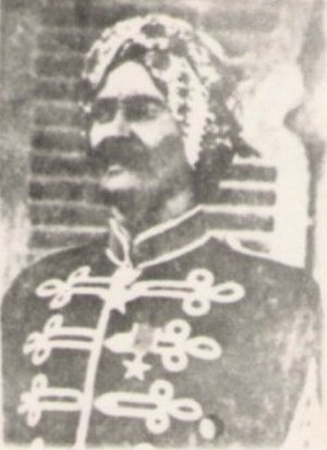 Somali aristocratic and court titles - Suldaan Ali Yusuf Kenadid of the Sultanate of Hobyo.