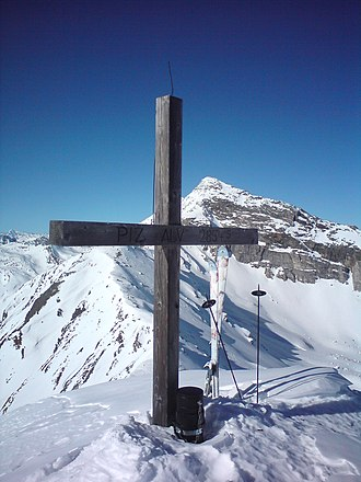 Piz Alv (Oberhalbstein Alps) - The summit