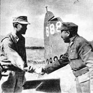 Wei Lihuang - General Wei Lihuang and Lieutenant General Sun Liren