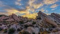 Sunrise at Vasquez Rocks Natural Area (30835072331).jpg