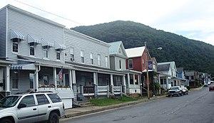 South Renovo, Pennsylvania - Image: Susquehanna Avenue South Renovo