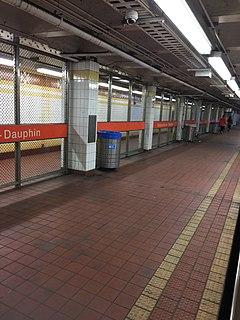 Susquehanna–Dauphin station Rapid transit station in Philadelphia
