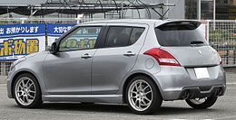 Suzuki Swift Sport ZC32S Rear.JPG