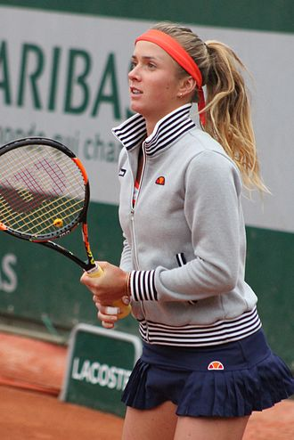 Elina Svitolina - Svitolina at the 2015 French Open