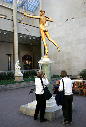 Diana (Saint-Gaudens) - Half-sized Diana (1928), Metropolitan Museum of Art.