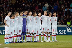 best authentic ad7d5 9b717 Switzerland national football team - Wikipedia