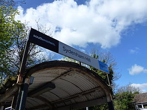 Sydenham Hill - Sydenham Hill station