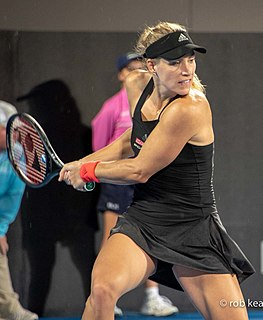 Angelique Kerber German tennis player