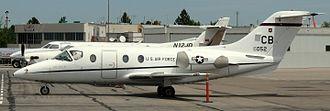 Raytheon T-1 Jayhawk - A T-1A parked at Centennial Airport (2008)