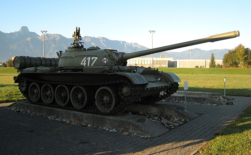 A Polish T-54A
