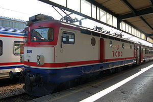 TCDD E 52500 - TCDD E52522 at Haydarpaşa