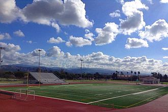 Tustin High School - Tustin High - Northrup Field