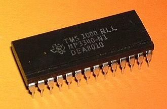 Microprocessor - Texas Instruments TMS1000