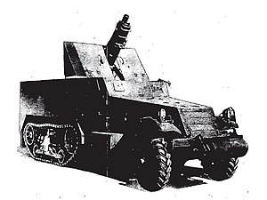A black and white picture of the T30