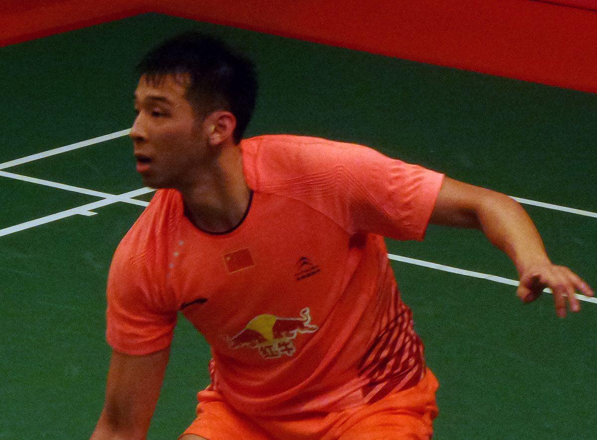 Lu Kai badminton