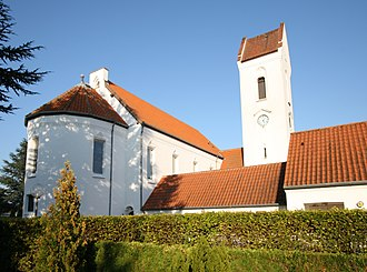 Taastrup - Taastrup New Church in September 2006
