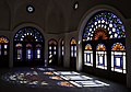 Tabatabaeiha home Kashan خانه طباطباییها کاشان طرحهای اسلیمی در وپنجره - panoramio.jpg