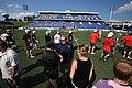 Tailgate Bayhawks Game Navy Marine Corps Memorial Stadium (29150039698).jpg
