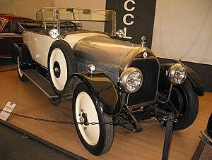 Automobiles Talbot France - 1920 Talbot Darracq Type A 4.6 litre V8