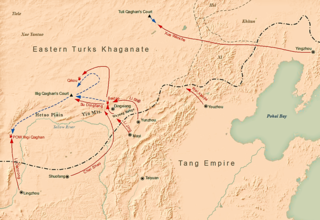 Tang campaign against the Eastern Turks Conquest of the Eastern Turkic Khaganate by the Tang dynasty