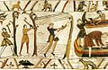 Tapestry by unknown weaver - The Bayeux Tapestry (detail) - WGA24167.jpg