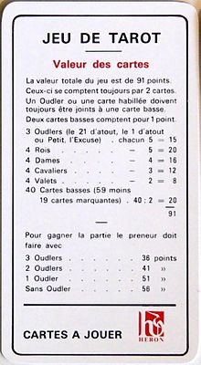 c90b7a704f7deb Card values in French tarot