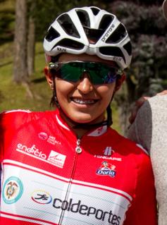 Tatiana Dueñas Colombian cyclist