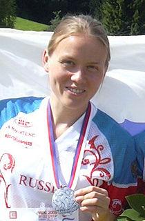 Tatiana Ryabkina Russian orienteering competitor