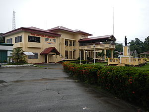 Tayug, Pangasinan - Tayug town hall and library