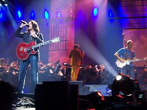 Tears for Fears - Roland Orzabal and Curt Smith in 2008.