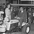 Technische Tuinbouwbeurs door minister Biesheuvel in Houtrusthallen geopend, Bestanddeelnr 917-9618.jpg
