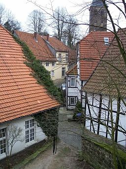 Tecklenburg, alter Stadtkern