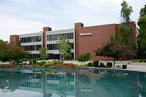 Tektronix - Building 50 at the company's headquarters