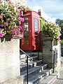 Telephone box, Glastonbury - geograph.org.uk - 1564880.jpg
