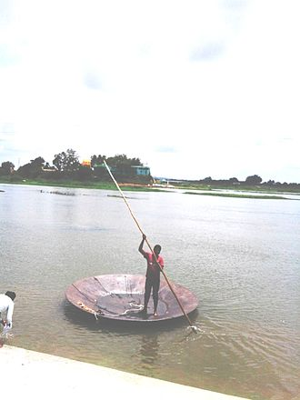 Tirumakudal Narsipur - Temple Coracle at T.Narasipura Bypass Junction