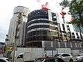 Tentatively named Yodobashi Umeda Tower under construction on 23rd August 2018.jpg