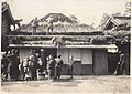 Thatching the roof of house in Japan (1914 by Elstner Hilton).jpg