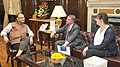 The Ambassador of State of Israel to India, Mr. Daniel Carmon meeting the Union Minister for Finance, Corporate Affairs and Information & Broadcasting, Shri Arun Jaitley, in New Delhi on July 31, 2015.jpg