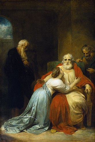 Robert Smirke (painter) - Image: The Awakening of King Lear (Smirke, c. 1792)