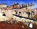 The Beach at Sainte-Adresse Albert Marquet (1906).jpg