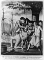 The Bostons paying the excise-man or tarring & feathering - copied on stone by D. C. Johnston from a print published in London 1774. LCCN2006691557.jpg