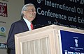 The Chairman, Atomic Energy Commission of India, Dr. Anil Kakodkar addressing at the Valedictory Session of Petrotech-2009, in New Delhi on January 15, 2009.jpg