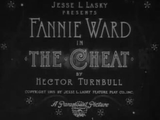 Файл:The Cheat (1915).webm
