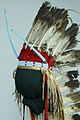 The Childrens Museum of Indianapolis - Plains headdress with trailer - detail.jpg