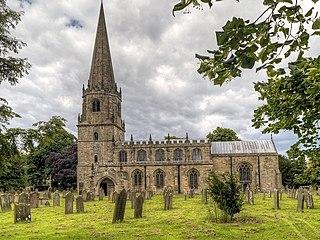 Church of St Mary the Virgin, Masham Church in North Yorkshire, England