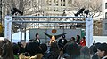 The Crowd and Stage at City Hall Park (5509441489).jpg