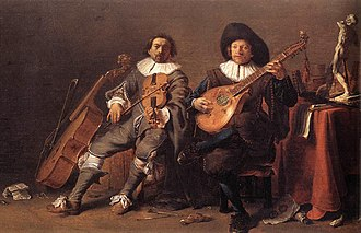 Chordophone - Three string instruments (17th century).