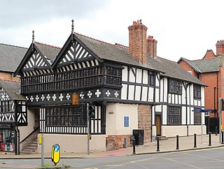 The Falcon, Chester Grade I listed pub in the United Kingdom